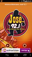 Screenshot of Mexican Music José 92.1