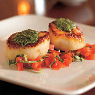 Pan Seared Scallops With Garlic And Olive Oil Recipes