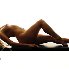 Curves by Vineet Johri - Nudes & Boudoir Artistic Nude ( vkumar, art nude, nude, girl, art nude lighting workshop in london, shadows, curves )