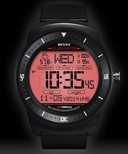 A45 WatchFace for Android Wear - screenshot
