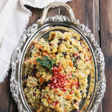 Pomegranate Cornbread Stuffing Recipe