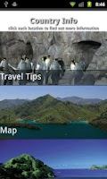 Screenshot of Wellington Travel Guide
