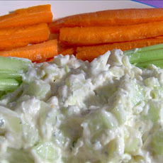 Cucumber Dill Dip for Fresh Veggies