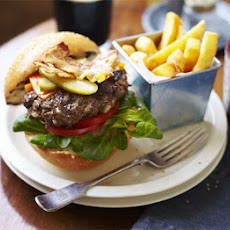 Best of British burgers with triple-cooked chips