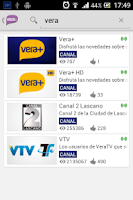 Screenshot of VeraTV