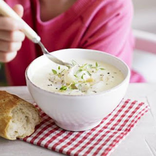 Silky Celeriac Soup With Smoked Haddock