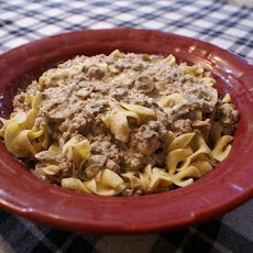 Low Fat Mexican Stroganoff