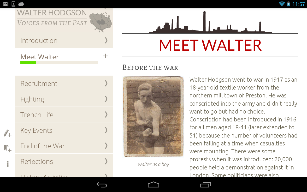 Walter Hodgson: Voice of WW1 Screenshot 13