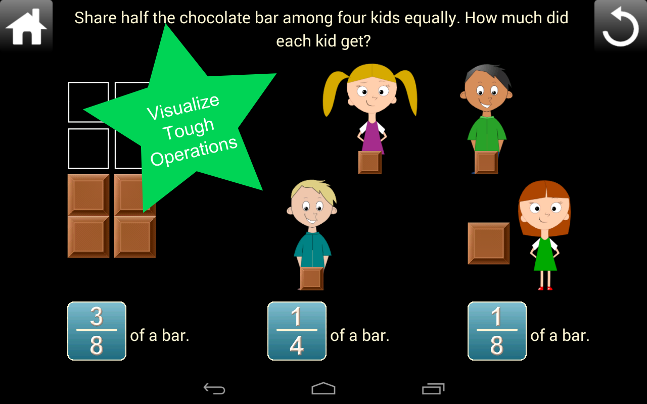 Fractions Screenshot 6