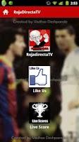 Screenshot of RojaDirectaTV