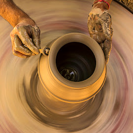 Finishing touch by Rakesh Syal - Artistic Objects Other Objects