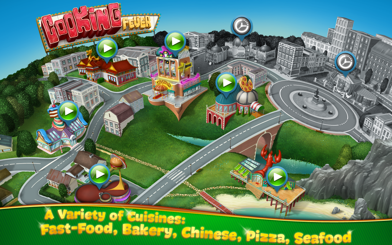 Cooking Fever Screenshot 1
