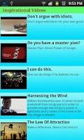 Screenshot of Inspirations