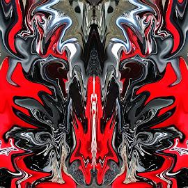 Yamaha abstract by Michael Moore - Digital Art Abstract