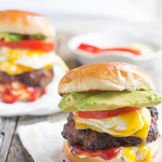 Brazilian Burger with Egg