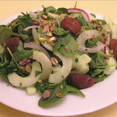 Armenian Spinach Plum Salad