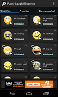 Screenshot of Funny Laugh Ringtones