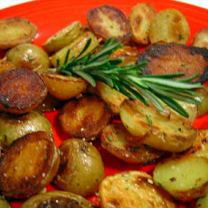 Crispy Rosemary Potatoes