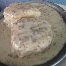 Vegan Biscuits and Gravy (Using Bisquick)