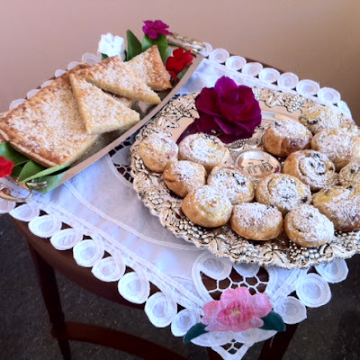 Shavuot Ricotta Pastries and Potato-Cheese Galette.