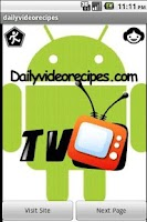 Screenshot of Daily Video Food Recipes