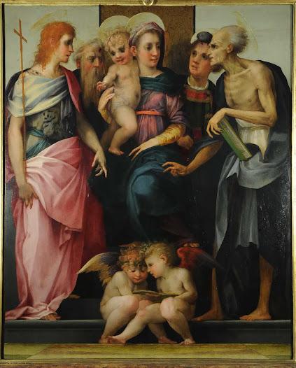 Rosso Fiorentino, Madonna dello Spedalingo
