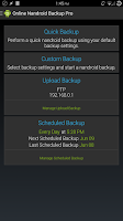 Screenshot of Online Nandroid Backup * ROOT