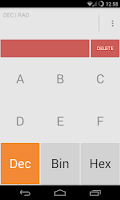 Screenshot of Calculator Light Theme