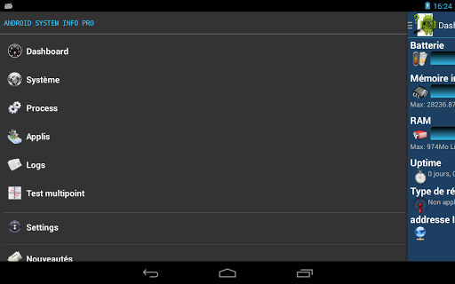 System Info Pro for Android - screenshot