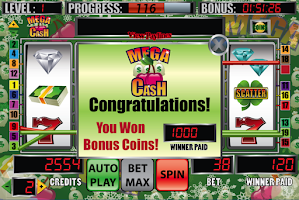 Screenshot of Mega Cash Slot Machine