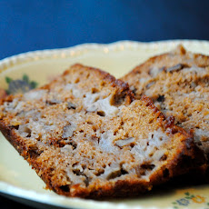 Ginger-Spiced Apple Walnut Bread