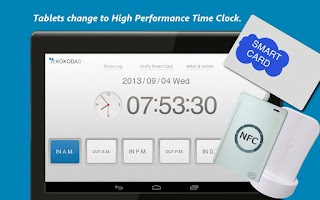 Screenshot of USB TimeClock  Free!