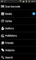 Screenshot of BooksApp