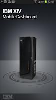 Screenshot of IBM XIV Mobile Dashboard