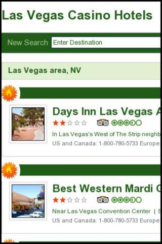 Las Vegas Casino Hotels