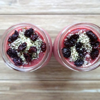 Cherry Hemp Smoothie