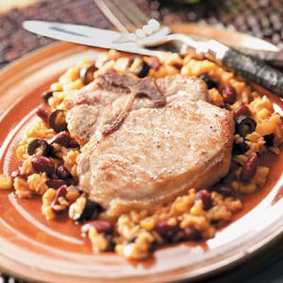 Mexican-Style Pork Chops