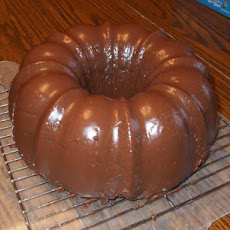 Chocolate Bundt Cake Glaze
