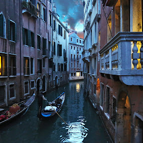 Mysterious Venice by Almas Bavcic - City,  Street & Park  Historic Districts