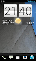 Screenshot of HTC Sense5 Apex Theme
