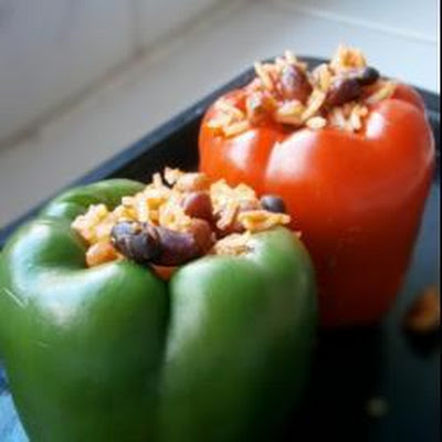 Stuffed Vegetarian Peppers