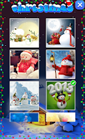 Screenshot of Christmas Puzzles