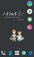 Screenshot of Cardboard Cutout Dodol Theme