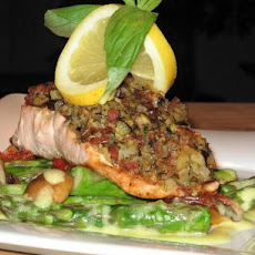 Whole Trout (Or Fillets) Stuffed W/Bacon & Eggplant Dressing