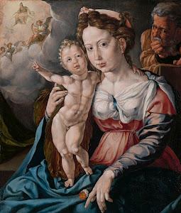 RIJKS: Jan Cornelisz. Vermeyen: The Holy Family 1530