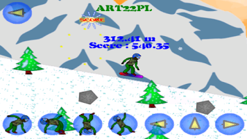 Screenshot of SnowBoard X Free
