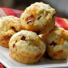 Cheesy Bacon Muffins