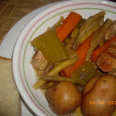 Chicken Pot Au Feu