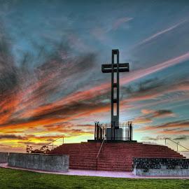 Mt. Soledad by David Allison - Buildings & Architecture Statues & Monuments
