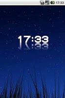 Screenshot of D-Clock Widget